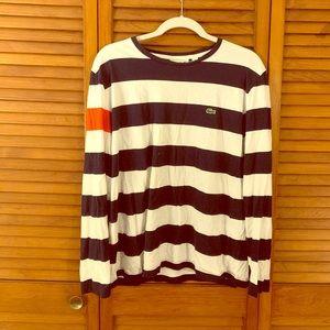 Men's Lacoste color blocking shirt